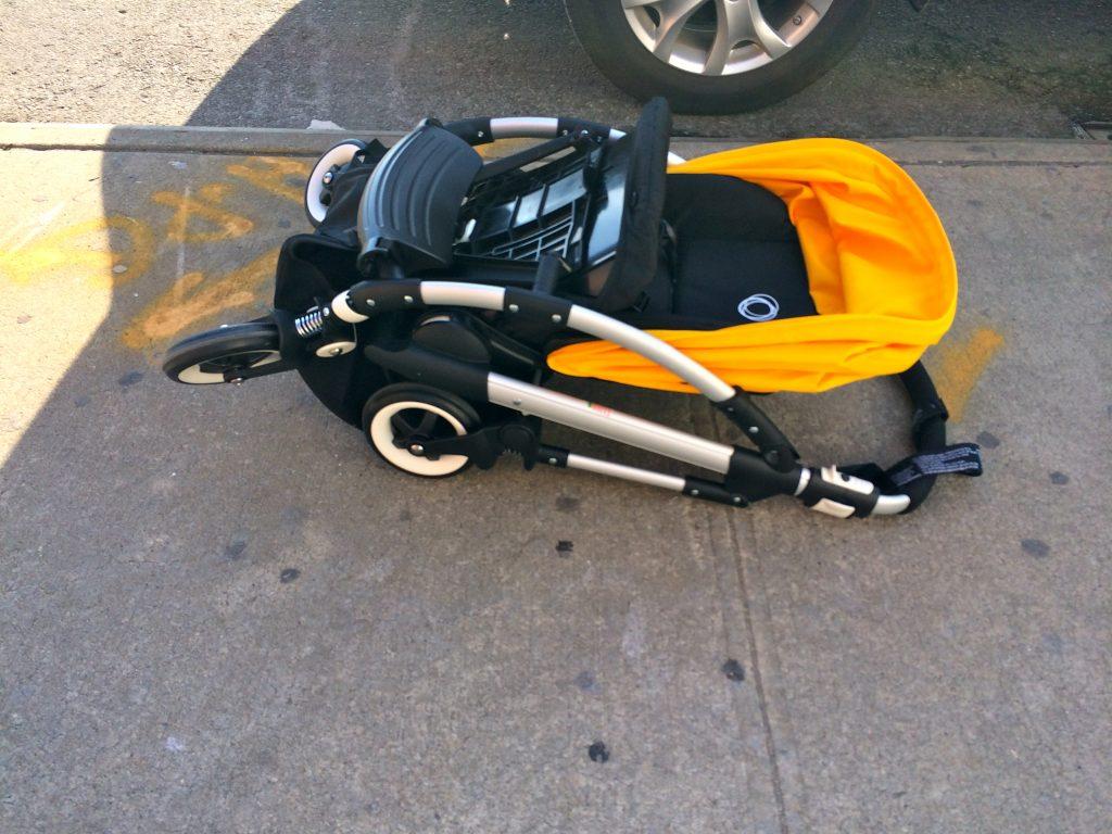 Bugaboo Bee3 Stroller Folded